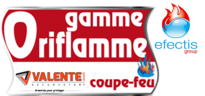 Certification coupe-feu gamme oriflamme effectis