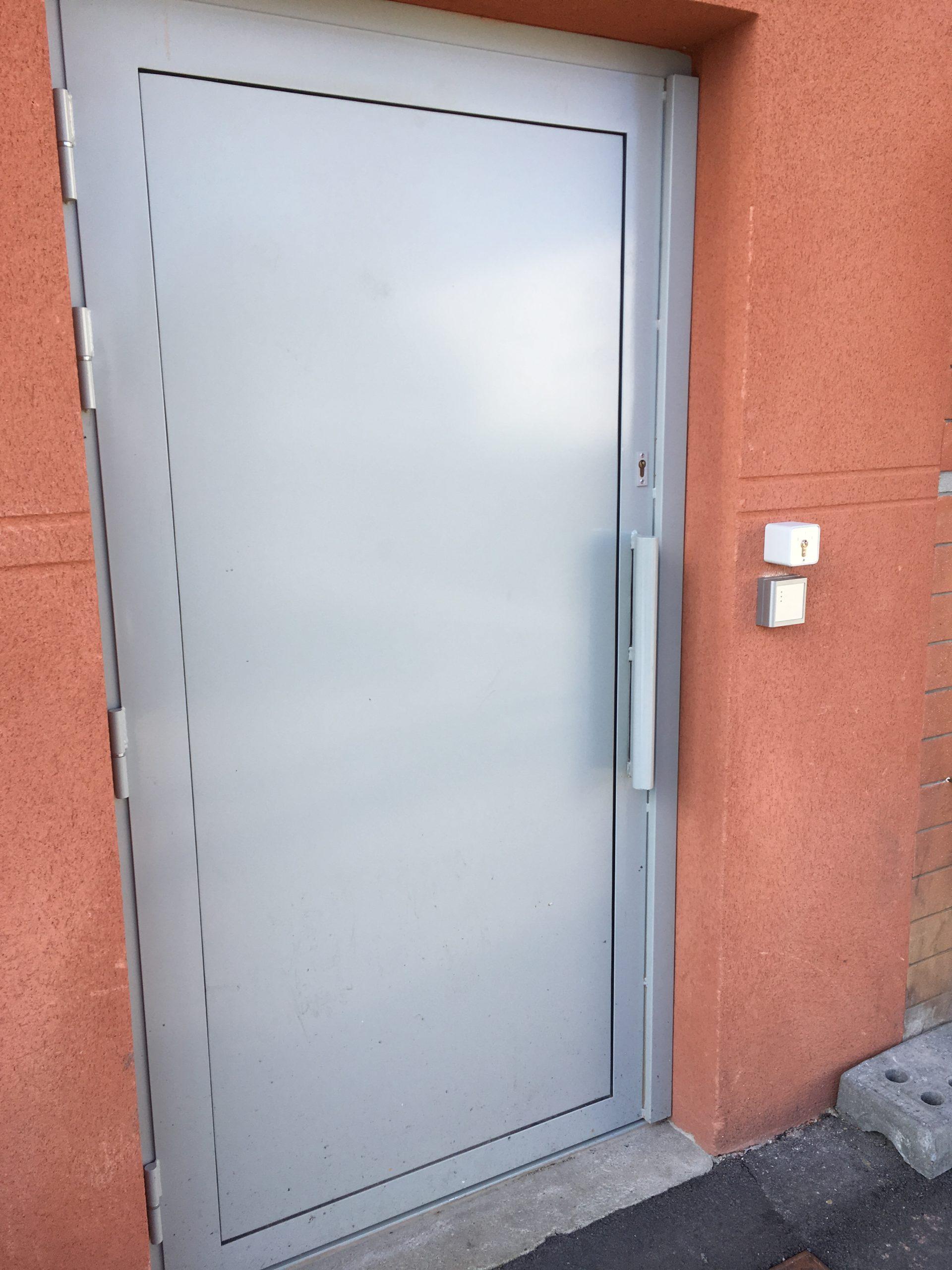 REALISATION - portes blindées
