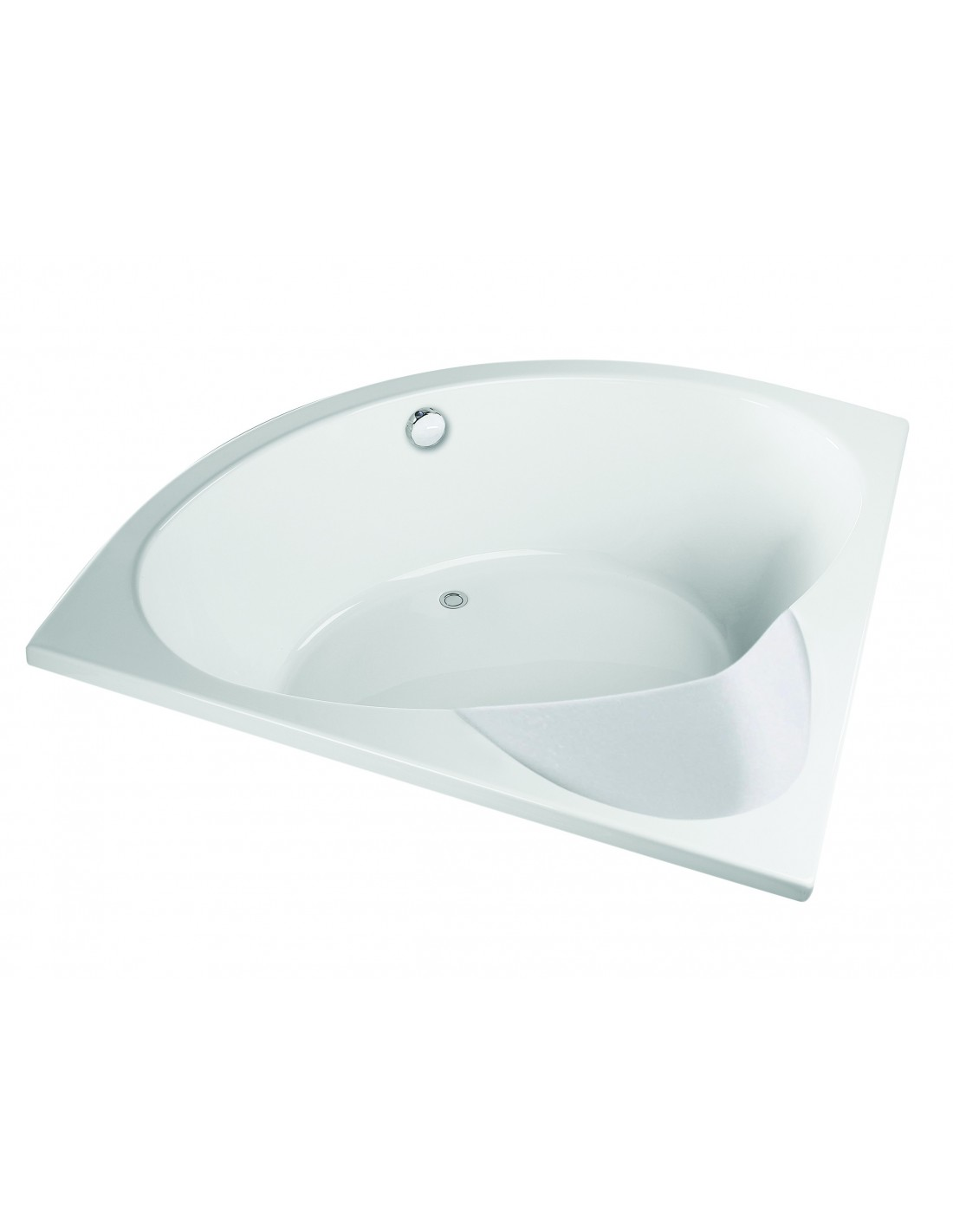 baignoire d angle compacte assise incluse premium valentin