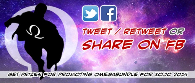 Get the Word Out about Omegabundle for Xojo 2014