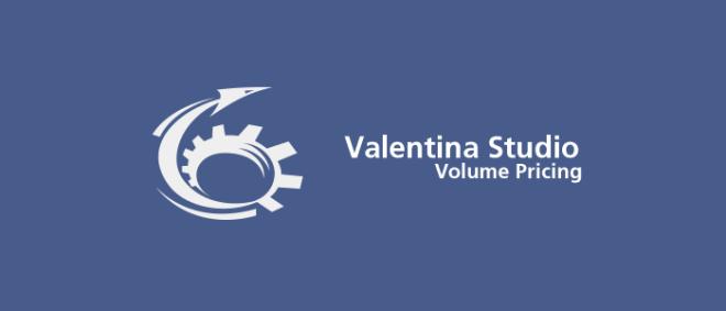 Valentina Studio Pro Volume Pricing