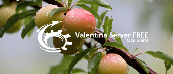 Valentina Server FREE: Take a Bite