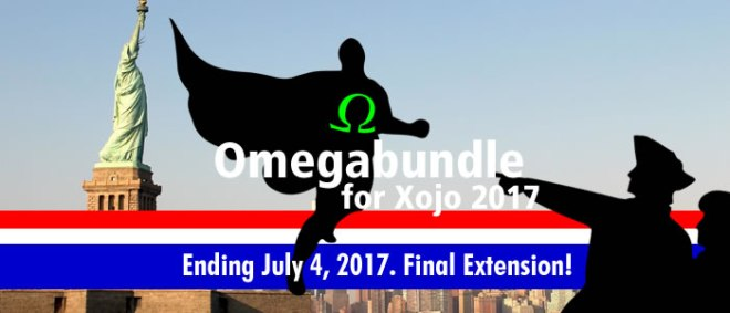 Omegabundle for Xojo 2017 Final Extension