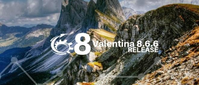 Valentina 8.6.6 Released