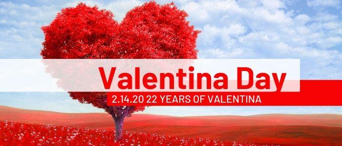 Valentine's Day 2020: 22 Years of Valentina Database