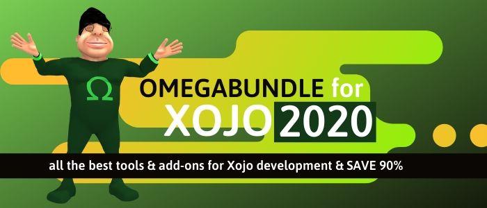 Omegabundle for Xojo 2020 Arrives