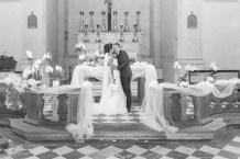 foto di coppia all'altare