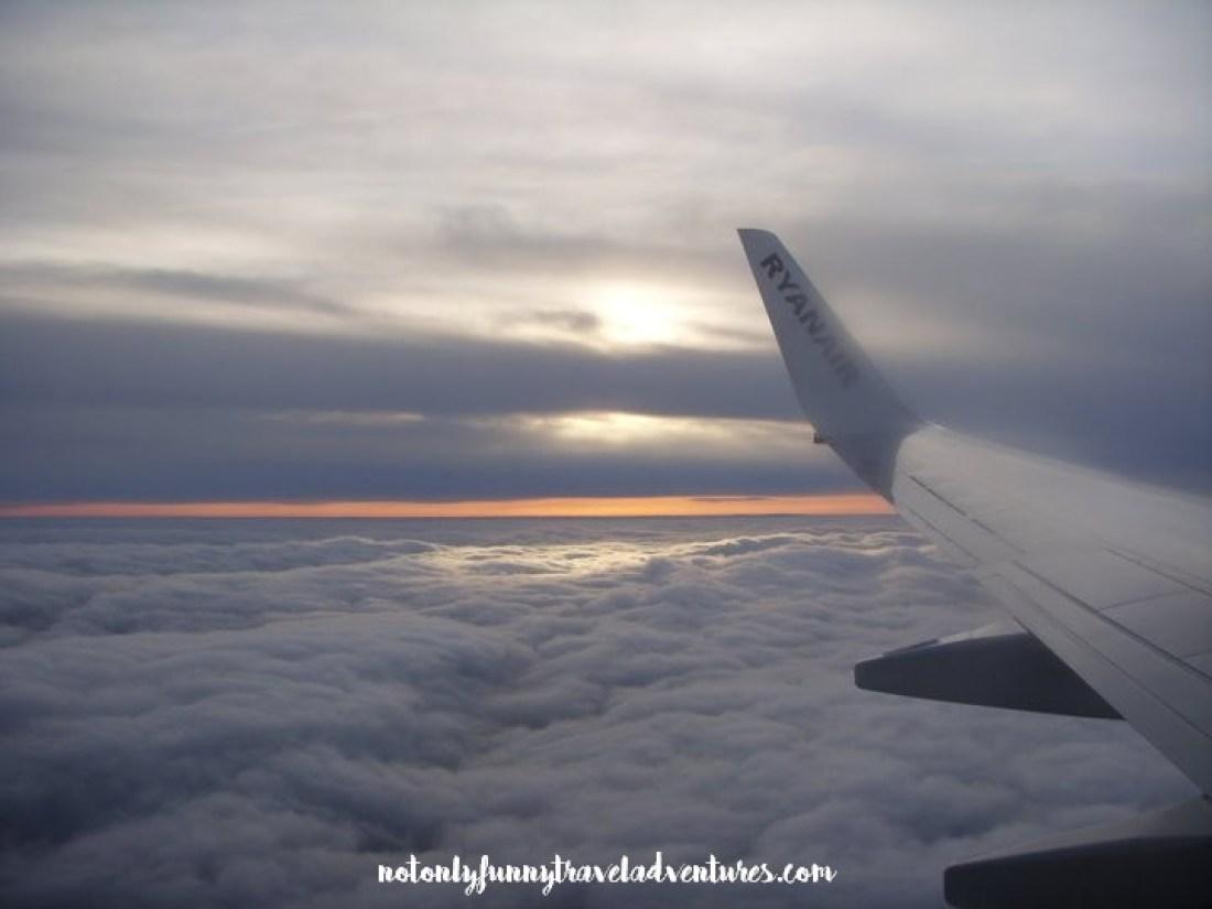 nuvole verso Oslo
