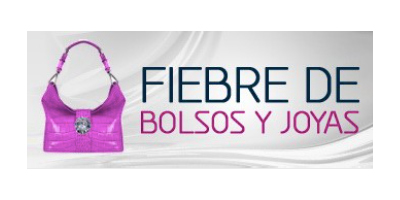 Logo fiebre de bolsos y joyas. Press Valentina Falchi