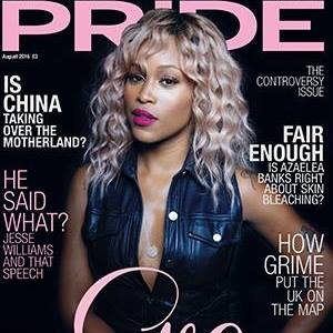 Pride Magazine Cover August 2016