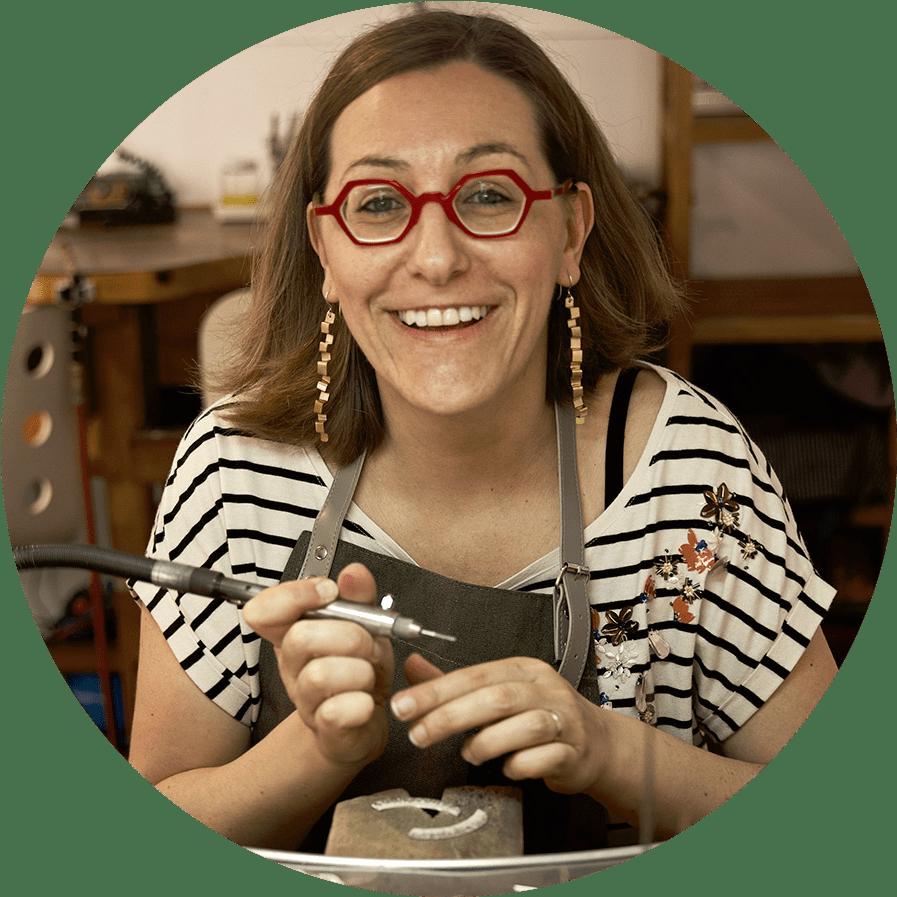 Valentina Falchi diseñadora de joyas