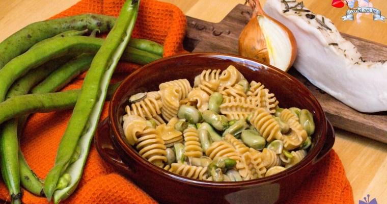 Fave comfort food:la mia Pasta e fave rustica