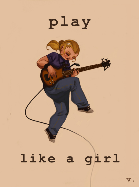 0064 Play Like a Girl