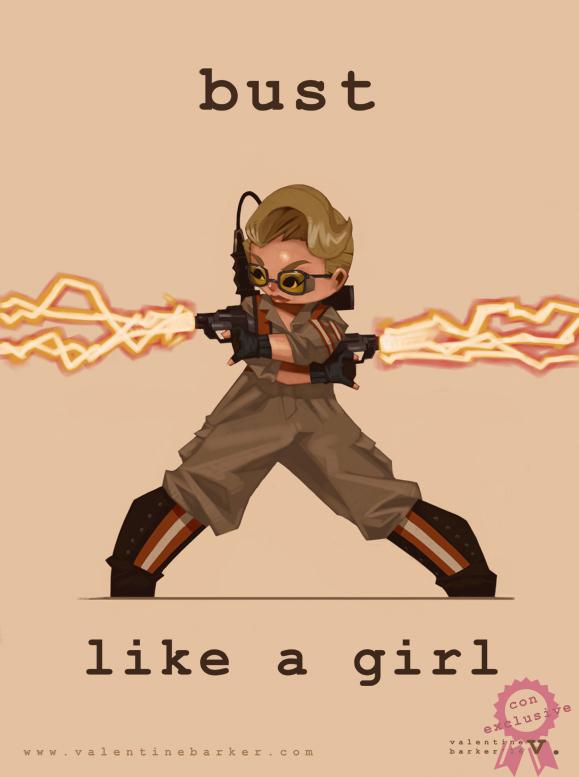 Bust Like A Girl