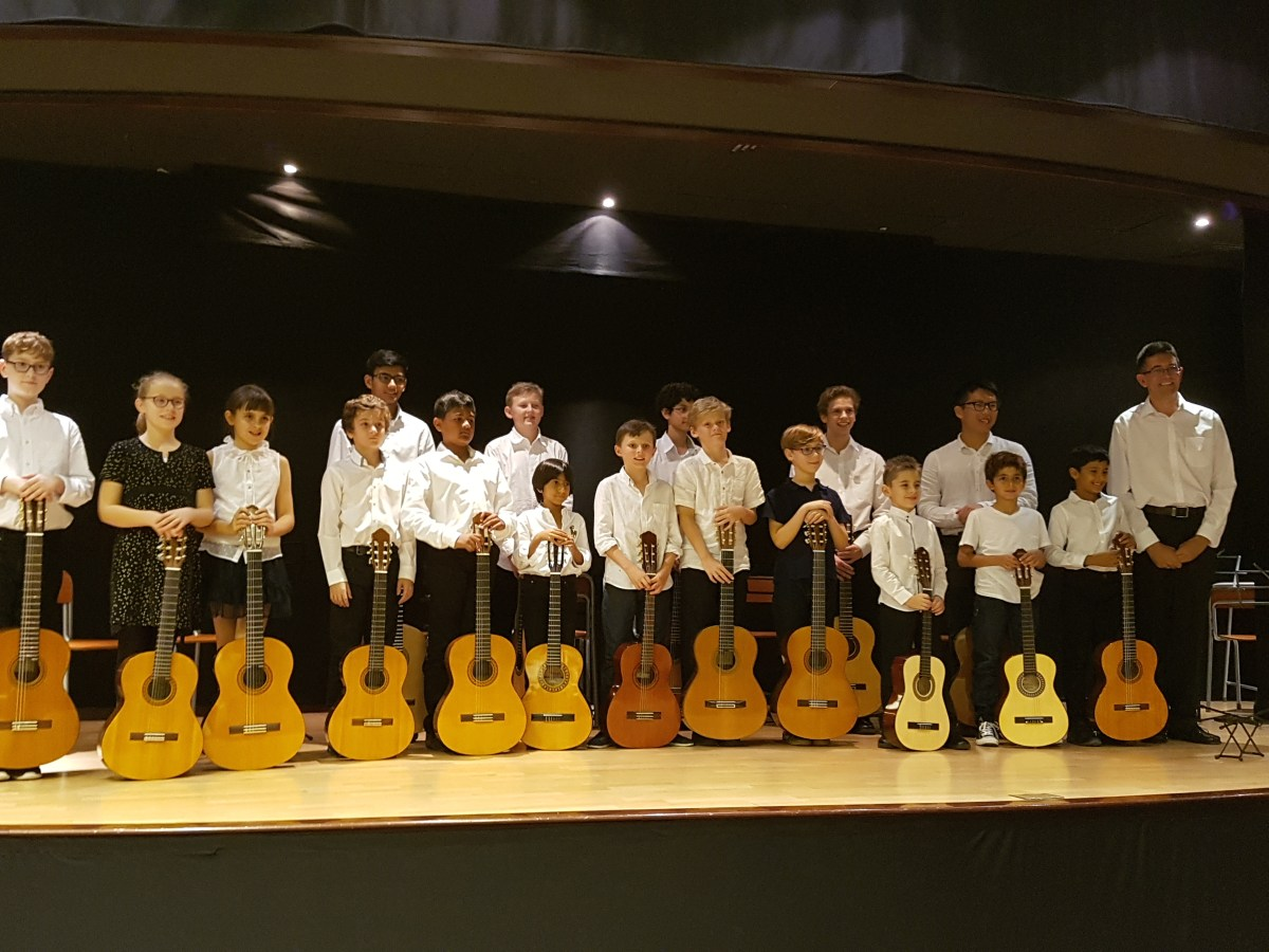 December 11th 2016 end of term Concert at AF Dubai