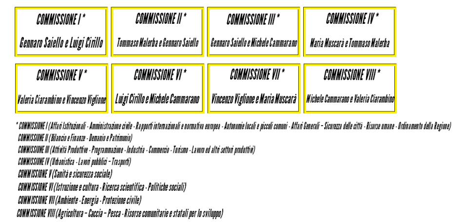 SCHEMA M5S COMMISSIONI PERMANENTI