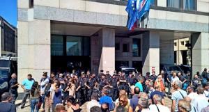 regione campania protesta m5s