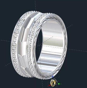 Modern Mens Wedding Rings