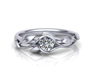 Custom Solitaire Engagement Rings
