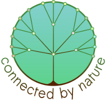 Logo Connected by Nature