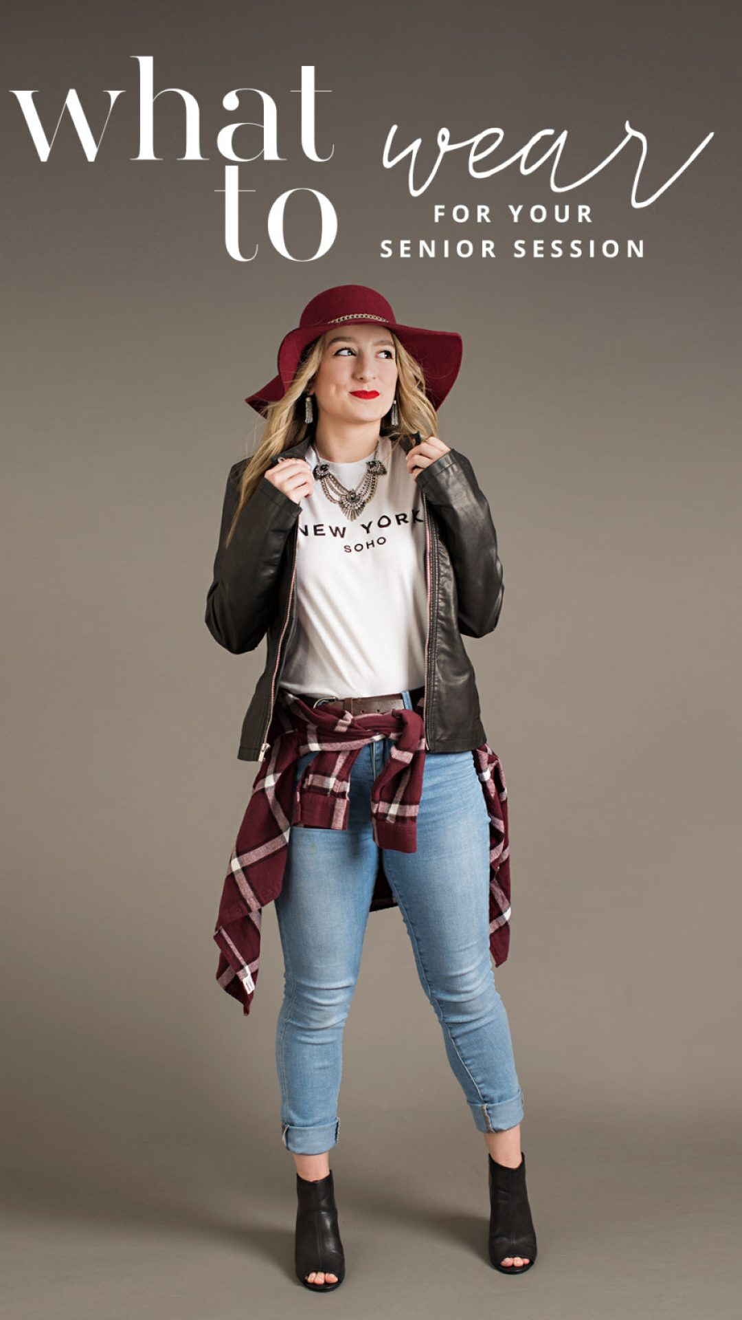 what to wear to your senior session