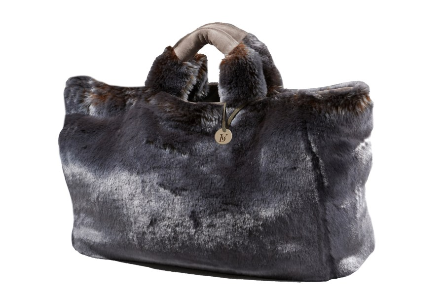Faux Fur Shopper