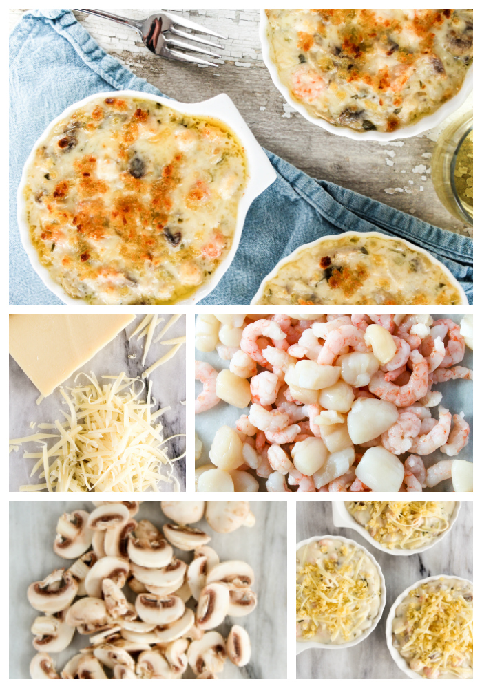 Coquille-St-Jacques-Ingredients
