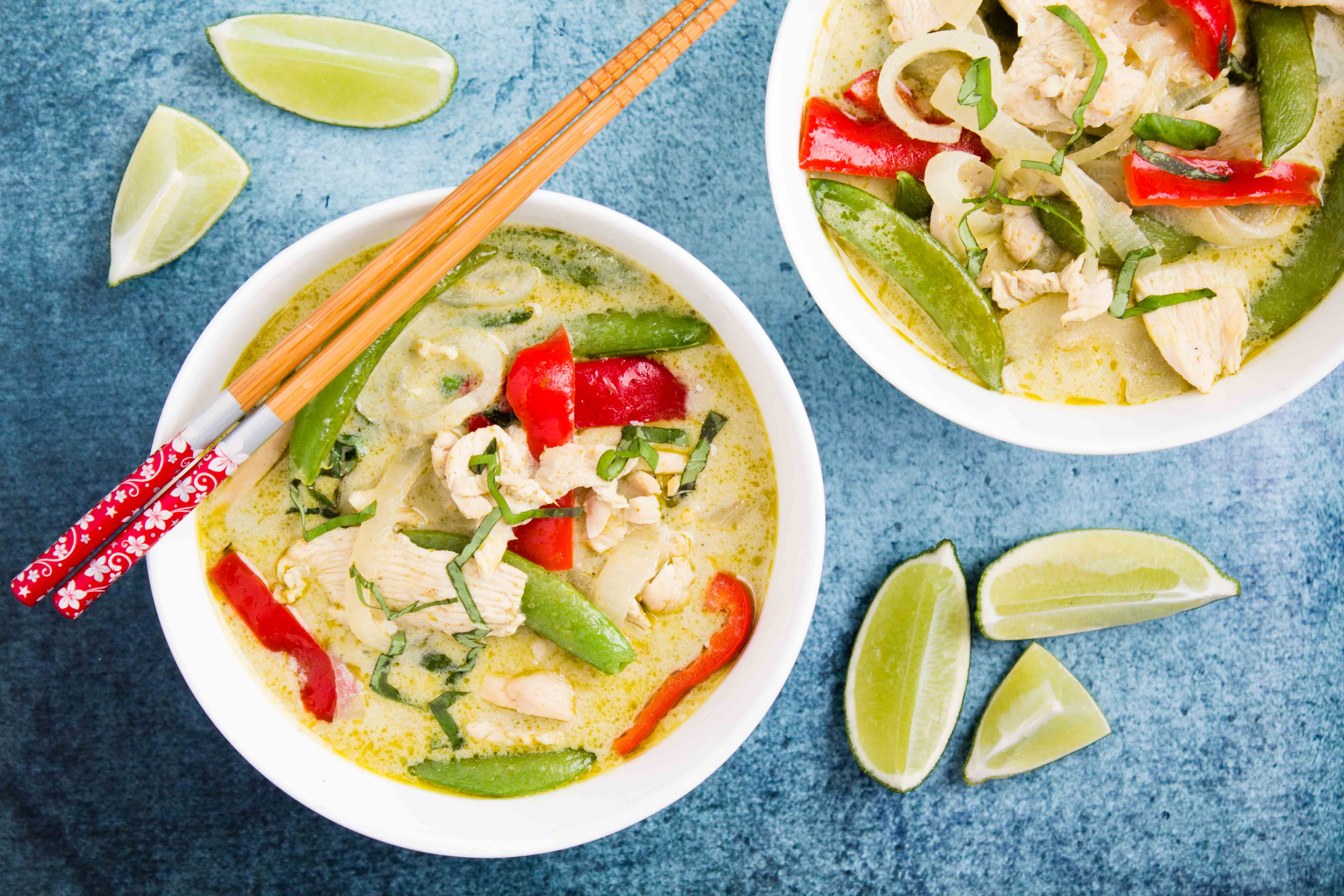 Thai Green Curry Chicken 20 Minute Valerie S Keepers