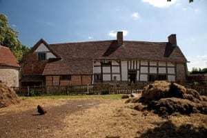 Mary Arden's birthplace