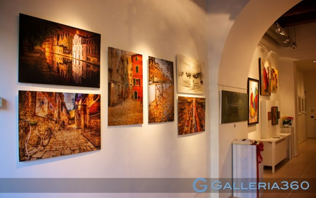 My pictures exhibited in Florence Gallery360