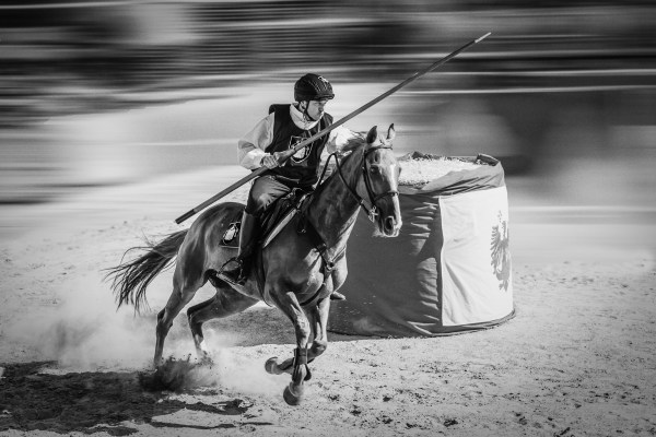 Black and white photography action competition