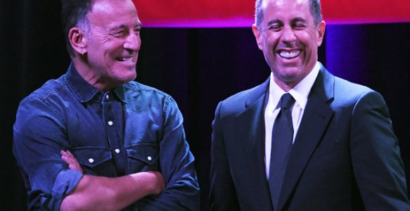 Billboard / Bruce Springsteen Performs, Tells Dirty Jokes at Stand Up for Heroes Benefit