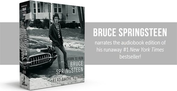 'Born to Run' audiobook out December 6