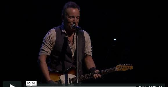 """Bruce Springsteen / """"We are the new American resistance."""""""