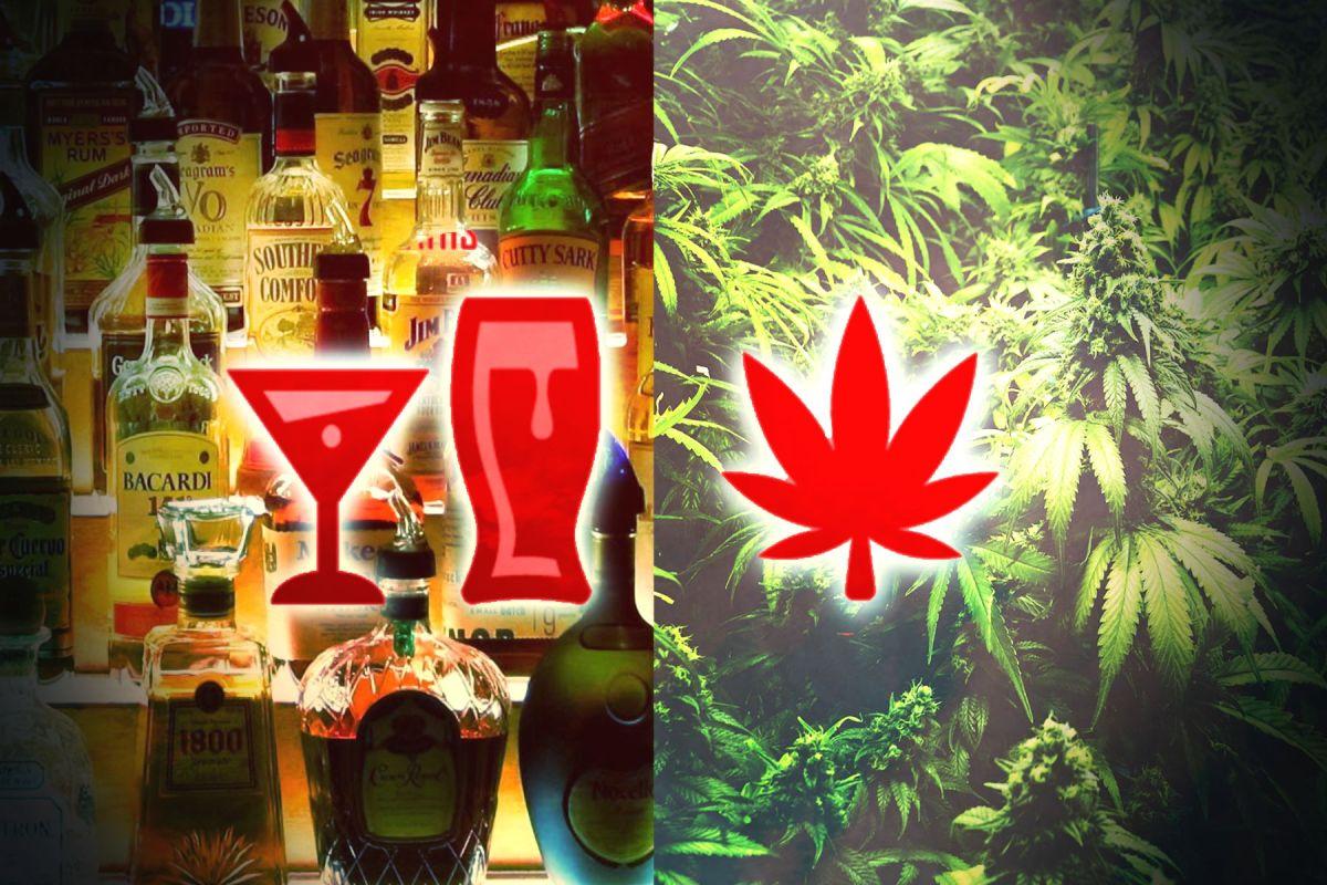 Alcol vs Marijuana: quale sostanza è piú dannosa?