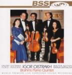 Cover:Brahms Piano Quintet