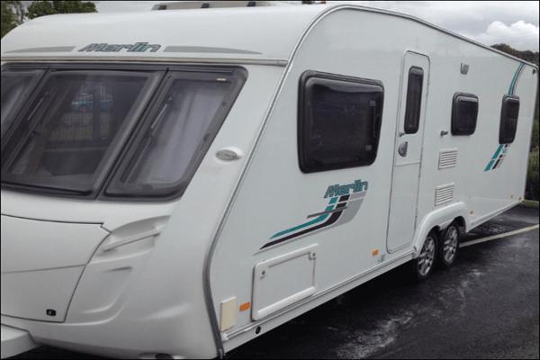 Caravan Washed