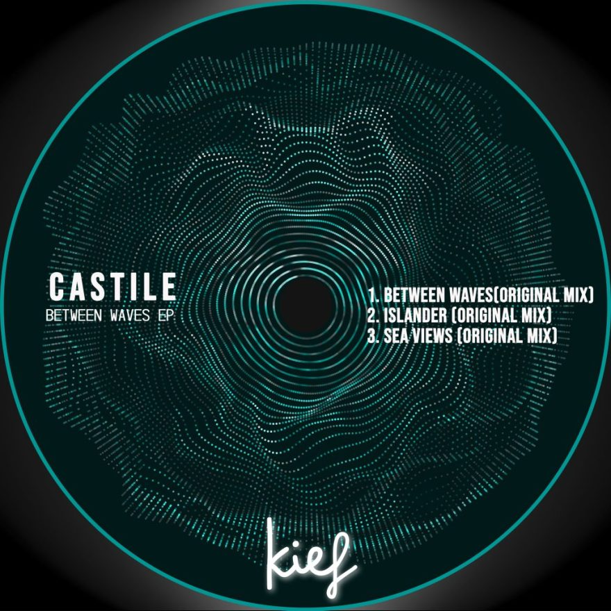 El sello mexicano Kief Music lanza el release 065 del catálogo titulado Between Waves EP, que reúne 03 flamantes tracks del artista canario Castile.