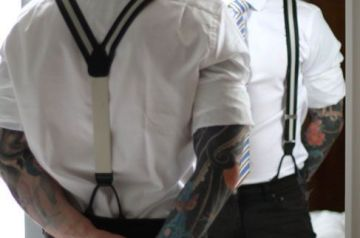 How To Put On Suspenders