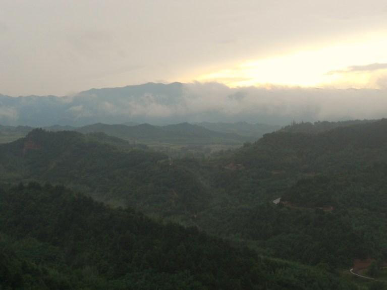 Panorama Maijishan