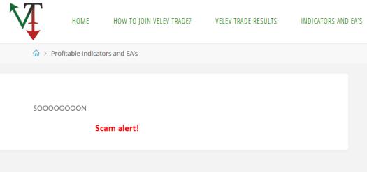 Velev Trade Scam Review