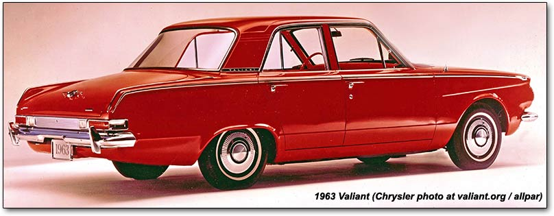 Plymouth cars of 1964  Savoy  Belvedere  Fury  Valiant 1963 valiant