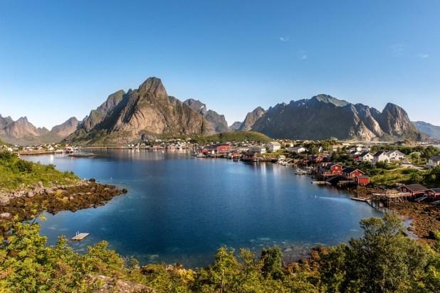 norvegia con bambini