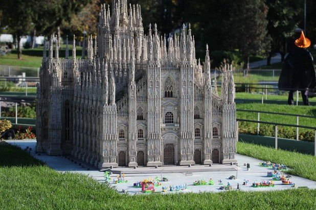 italia in miniatura capriate