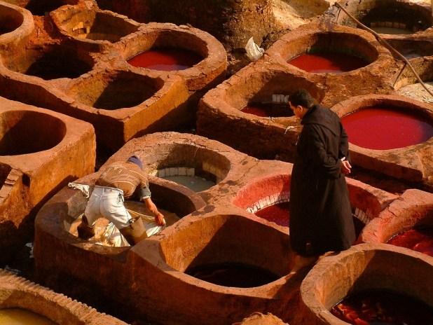 concerie pelli marocco