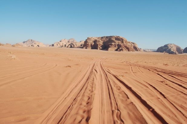 Aqaba deserto
