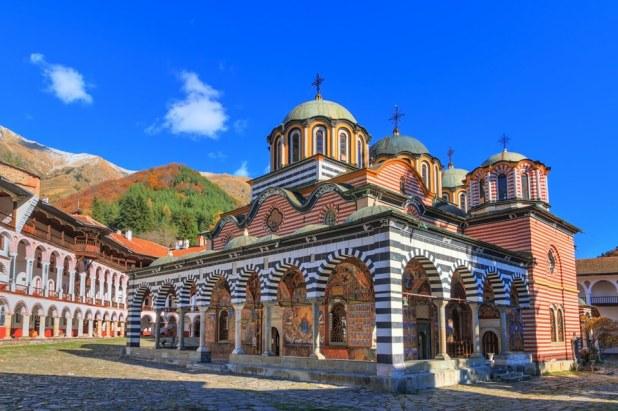monastero rila