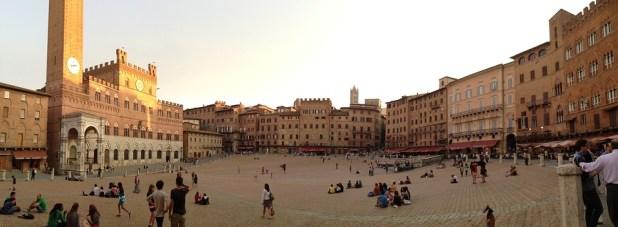 Piazza palio di Siena