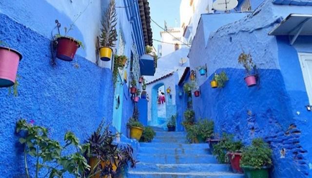 Chefchaouen, Marocco - città blu