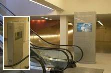 Borne digital interactive pour le parlement européen - Conception et fabrication VALIN - Borne numérique
